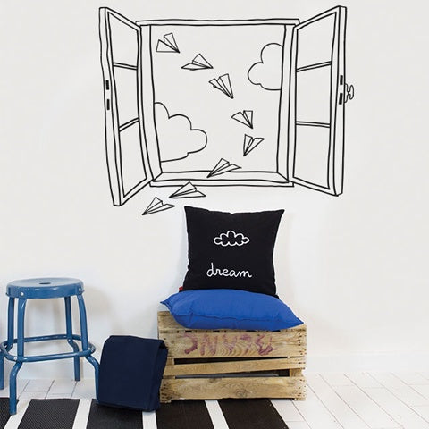 Wall Decal Planes Window
