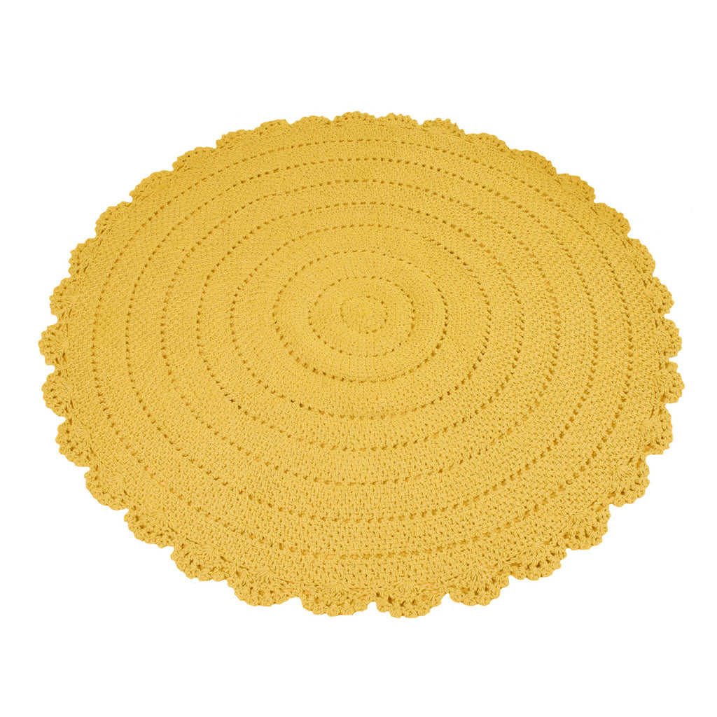 Roundy Rug Yellow