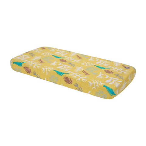 Lodger Fitted Sheet Cot/Cot Bed Botanimal Spring Yellow