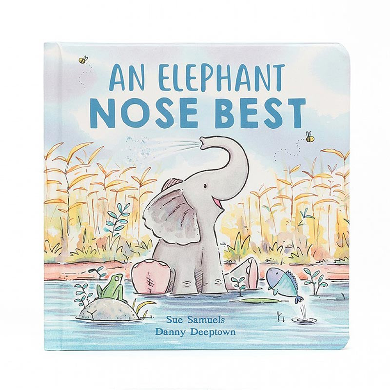 Jellycat Book An Elephant Nose Best