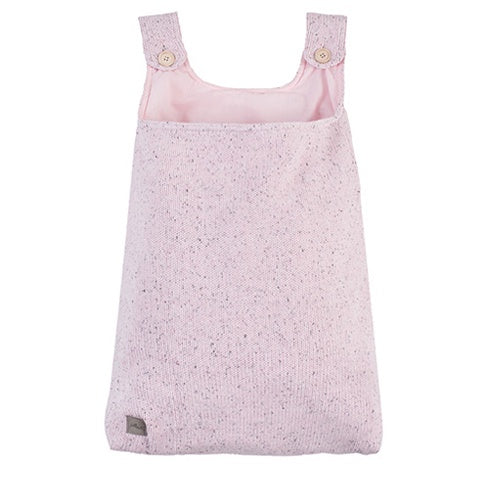 Storage Bag Confetti Knit Vintage Pink