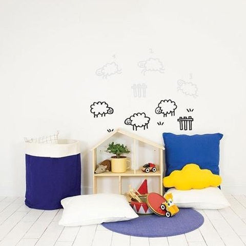 Wall Decal Counting Sheeps
