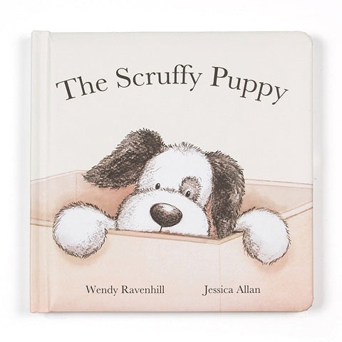 Jellycat Book Scruffy Puppy