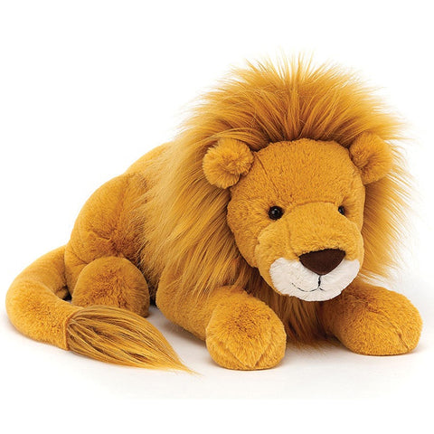 Jellycat Soft Toy Louie Lion