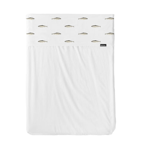 Flat Sheet Cot Arctic Friends