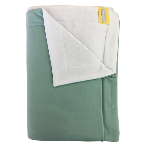Moepa Cot Blanket 100x150 Mint - White