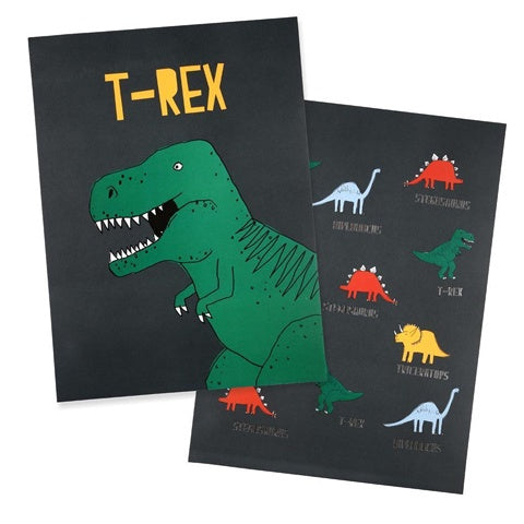 Art Prints Dinosaur (set of 2)