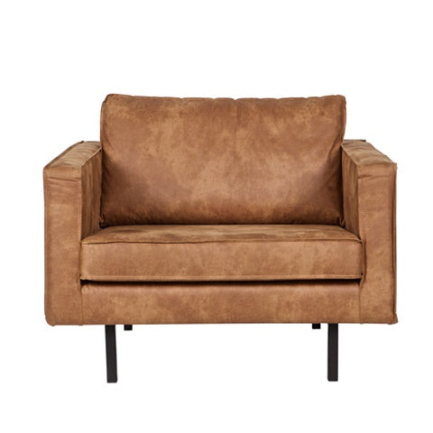 Leather Arm Chair Cognac
