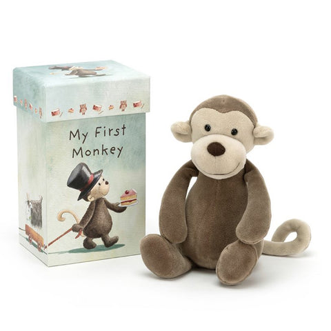 Jellycat Soft Toy My First Monkey