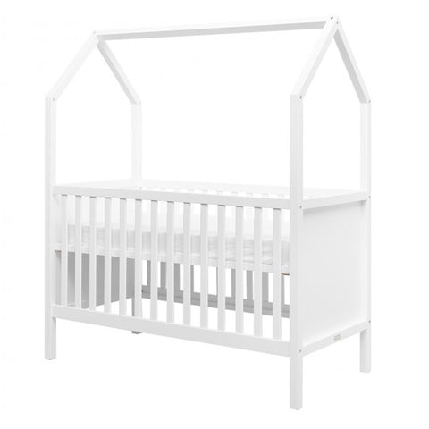 Cot My First House White
