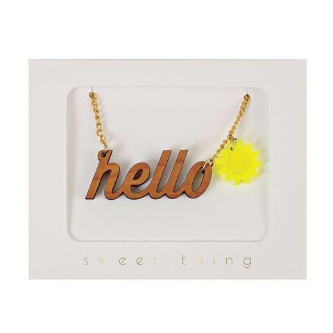 Necklace Hello Sunshine