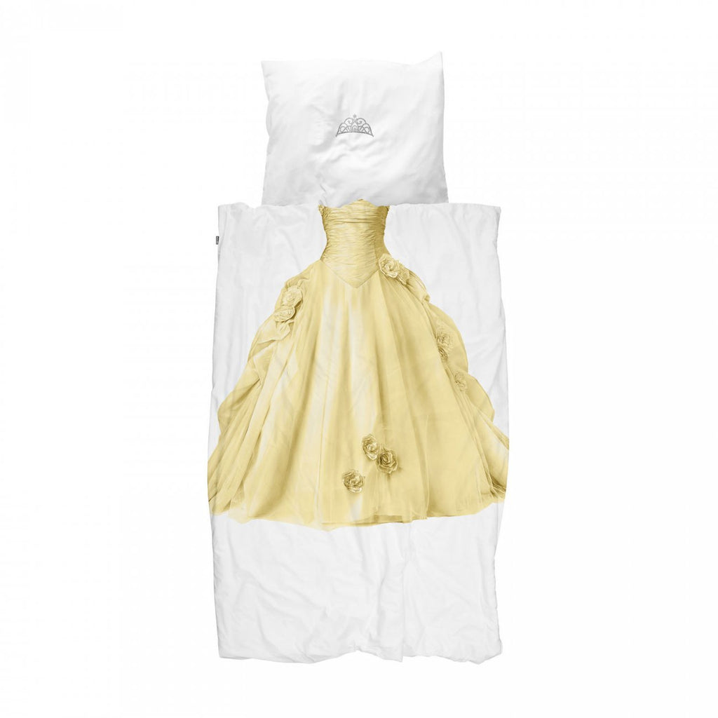 Duvet Cover Princess Yellow