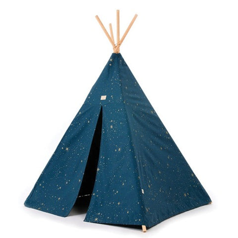 Nobodinoz Tipi Phoenix Gold Stella/Night Blue