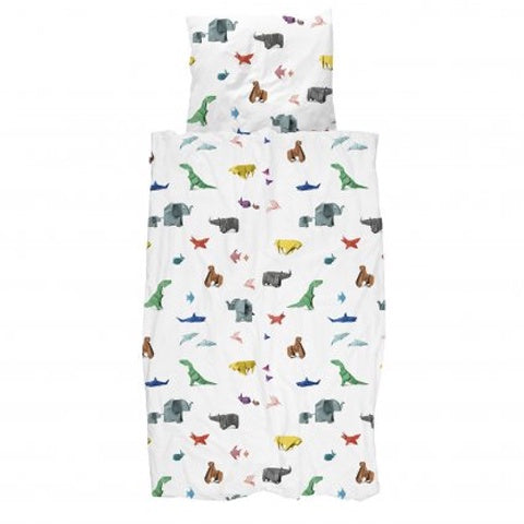 Duvet Cover Paper Zoo