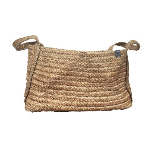 DEER Jute Handmade Basket Natural