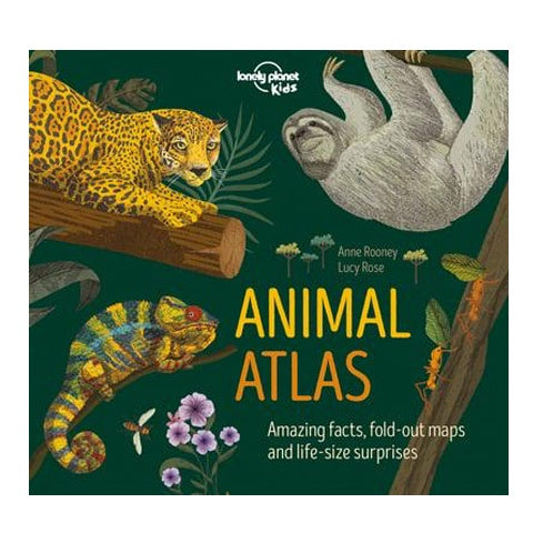 Lonely Planet Kids Animal Atlas