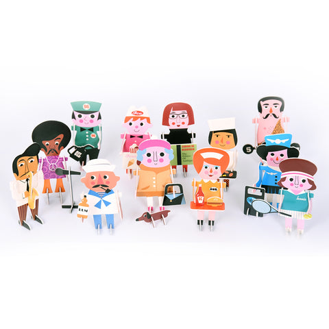 3D Puzzle Character Parade
