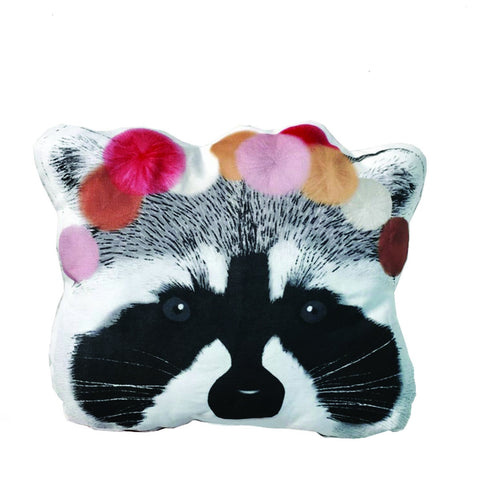 Cushion Adorable Raccoon