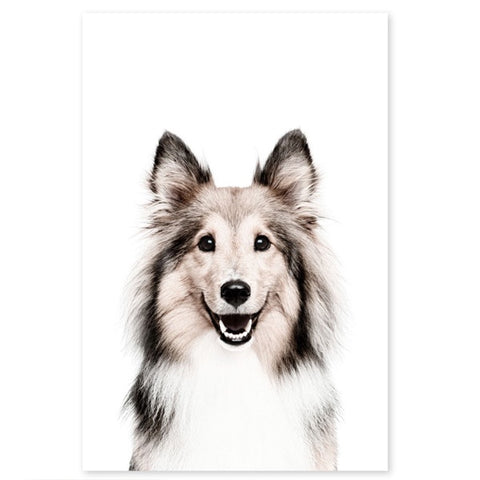 Magnetic Wall Sticker Dog