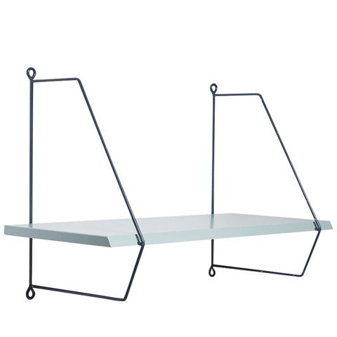 Wall Shelf Scandinavian Blue