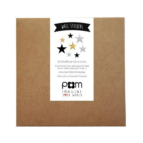 Pom Wall Stickers Star Chic