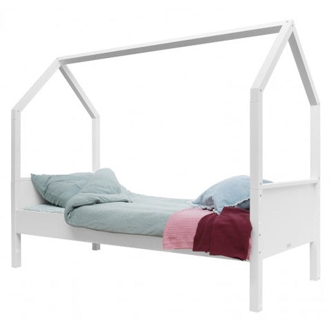 Bed Single Size Combiflex House White