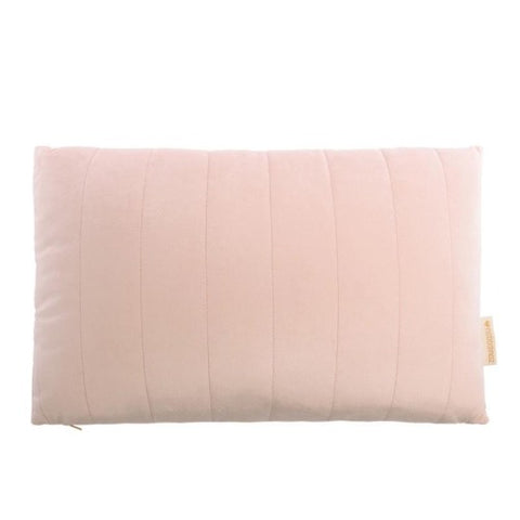 Nobodinoz Cushion Akamba Velvet Bloom Pink