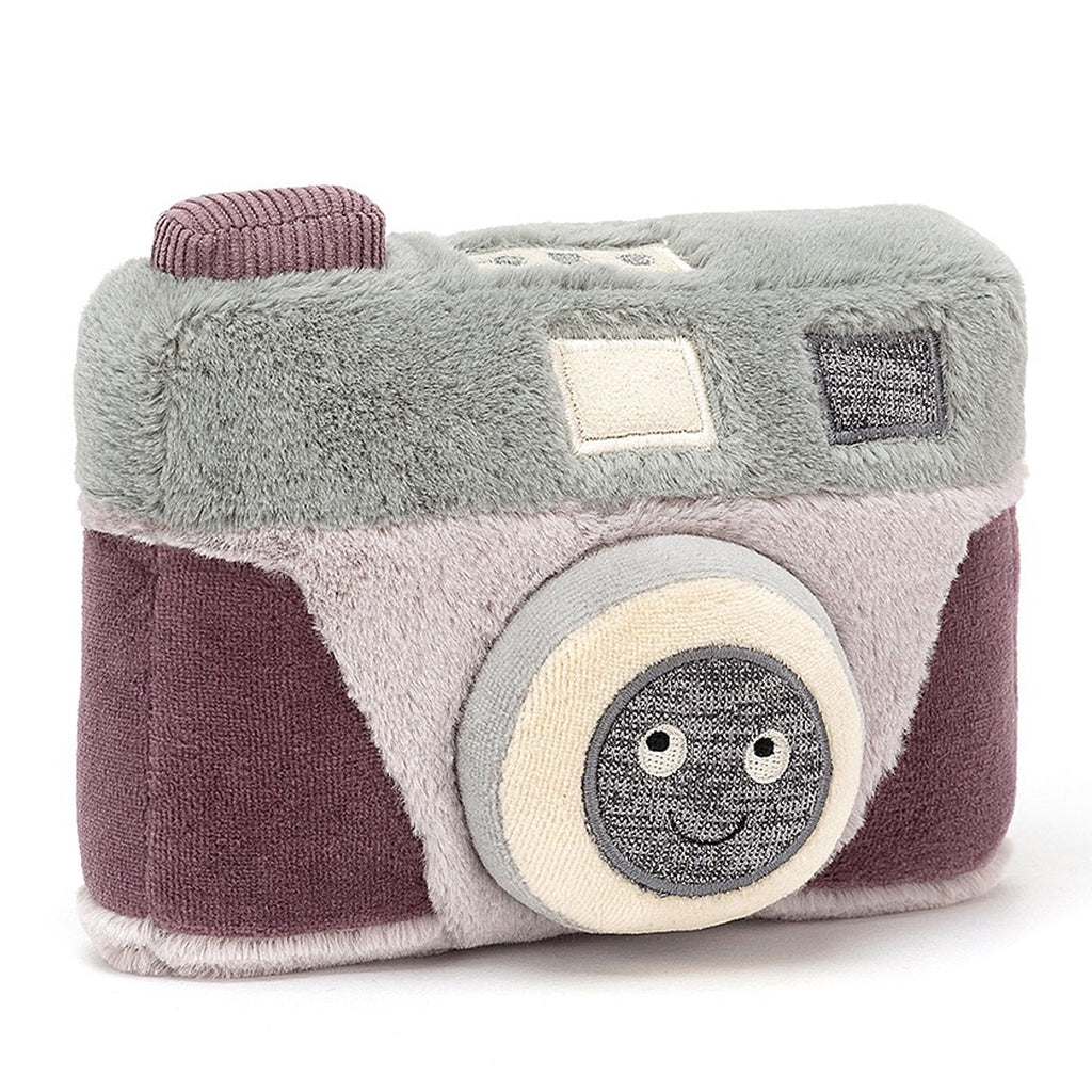 Jellycat Soft Toy Wiggedy Camera