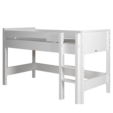 Semi Loft Bed Combiflex White