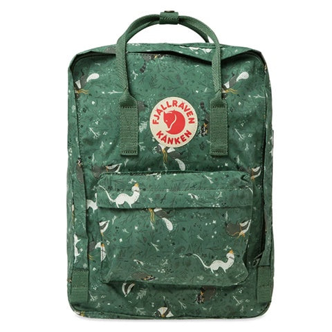 Backpack Fjallraven Kanken Art Green Fable