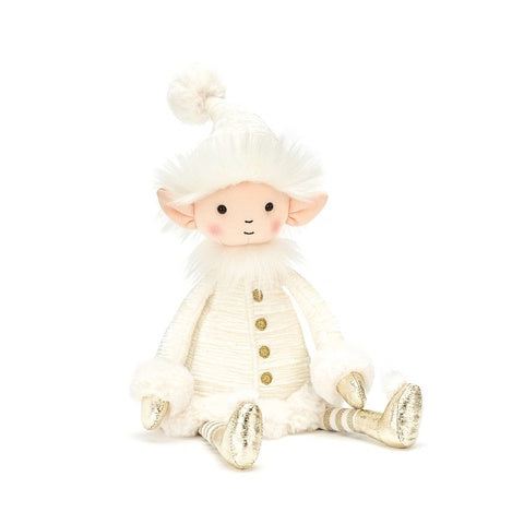 Jellycat Soft Toy Snowflake Elf