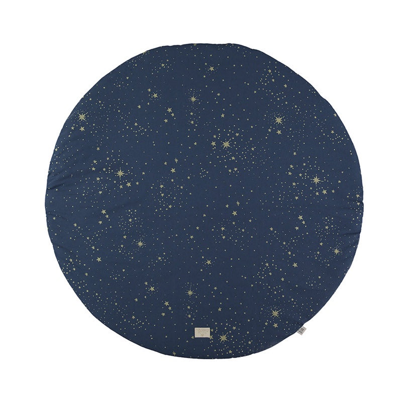 Nobodinoz Playmat Round Full Moon Gold Stella/Night Blue