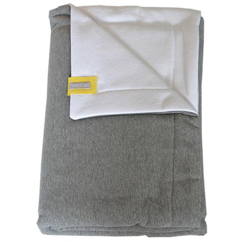 Moepa Cot Blanket 100x150 Grey-White