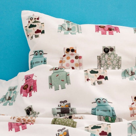 Duvet Cover Robot Toddler