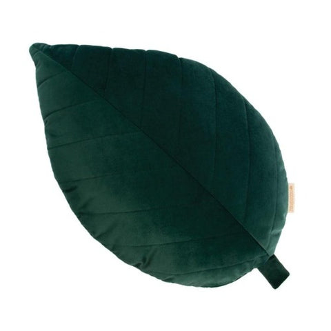 Nobodinoz Cushion Velvet Palma Jungle Green