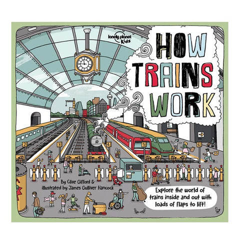 Lonely Planet Book How Trains Work