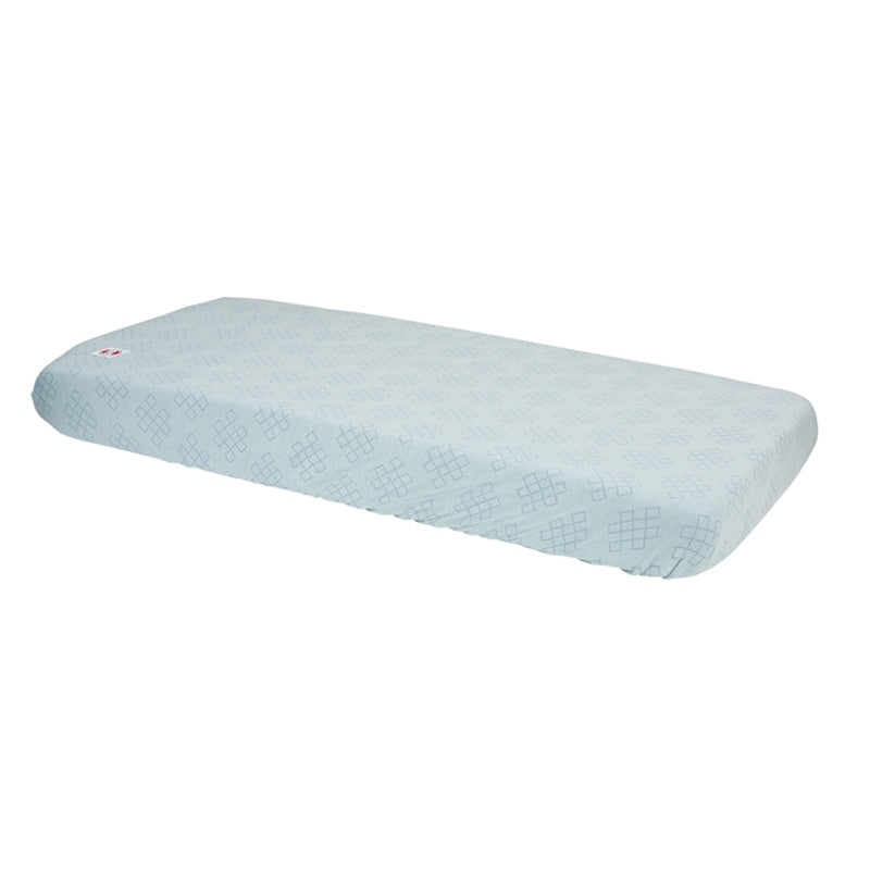Lodger Fitted Sheet Cot/Cot Bed Slumber Empire Ocean Blue