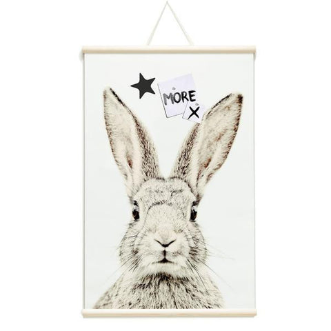 Magnetic Poster Rabbit