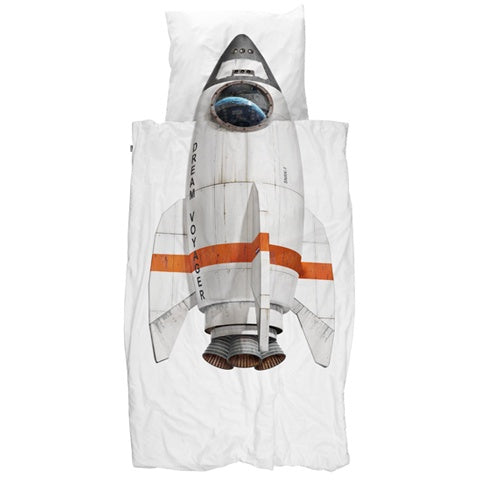Duvet Cover Rocket Dream Voyager
