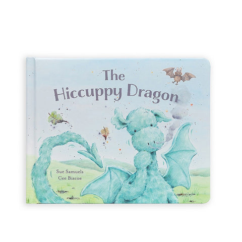 Jellycat Book The Hiccupy Dragon