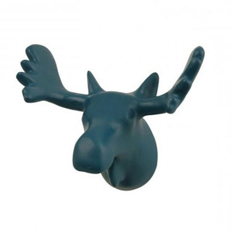 Wall Hook The Zoo Moose Petrol Blue