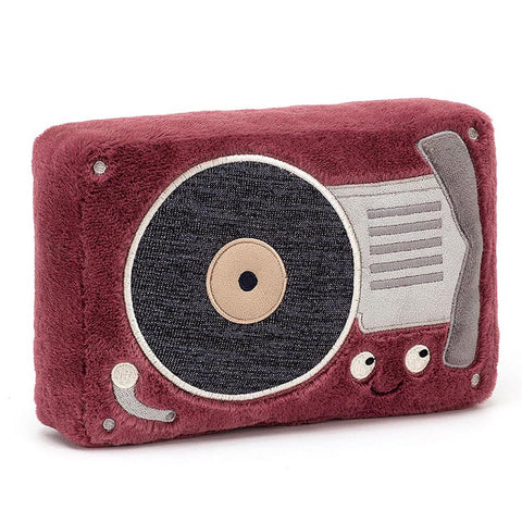 Jellycat Soft Toy Wiggedy Record Player