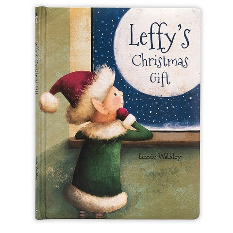 Jellycat Book Leffy's Christmas Gift