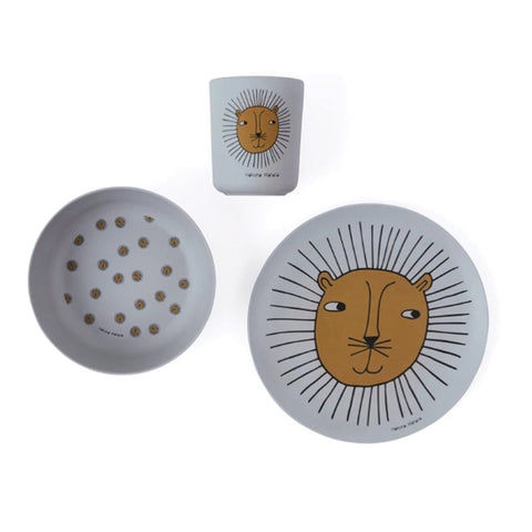 Tableware Set Bamboo Lion
