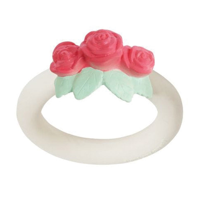 Teething Ring Rose Bud