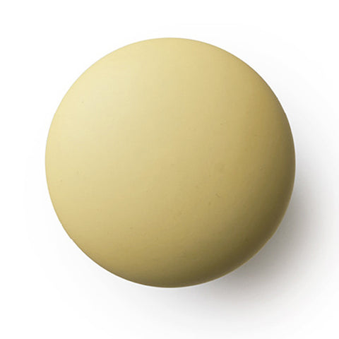 Hook/Knob Porcelain Yellow