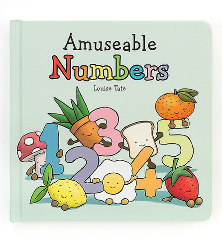 Jellycat Book Amuseable Numbers