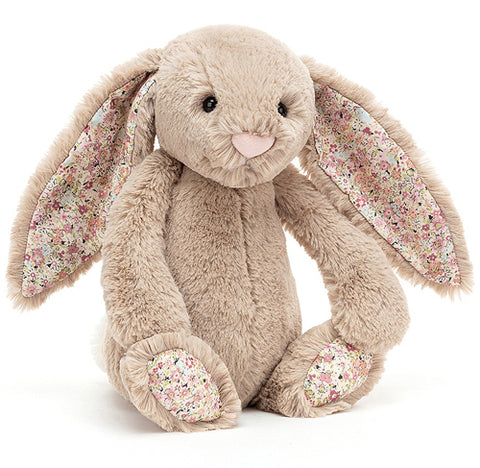 Jellycat Soft Toy Bashful Bunny Blossom Bea Beige