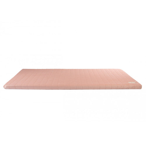 Nobodinoz Zanzibar Velvet Mattress 60x120 Bloom Pink