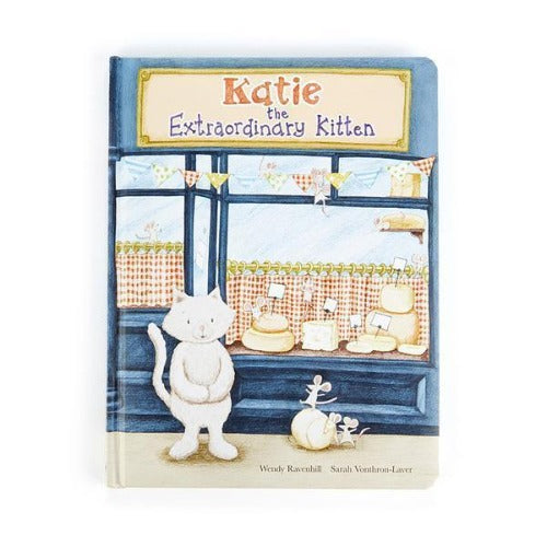 Jellycat Book Katie The Extraordinary Kitten